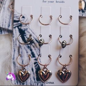 Accessories - NEW Gold Hair Rings - 4 for $20!